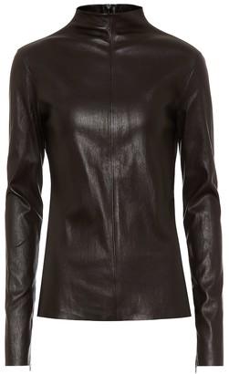 Bottega Veneta Leather top