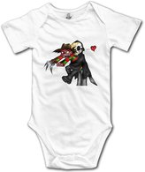 POY-SAIN BABY Jason Voorhees And Freddy Krueger POY-SAIN Infant Toddler Romper Suit Climb Clothes