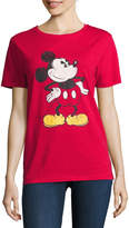 Freeze Mickey Mouse Graphic T-Shirt- Juniors