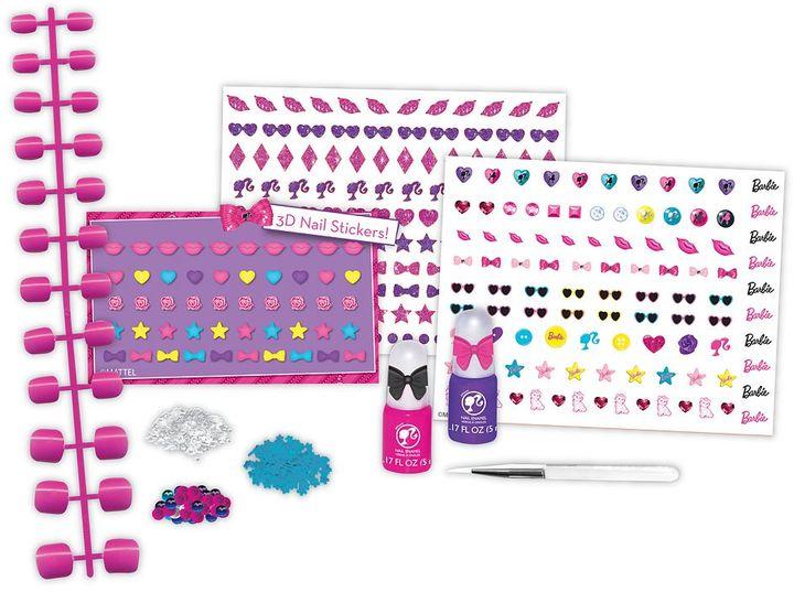 Fashion Angels barbie 3d nail design set by mattel