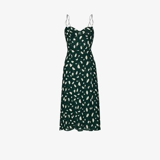 Reformation Juliette printed midi dress