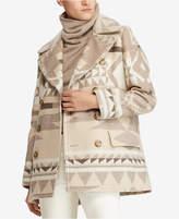 Polo Ralph Lauren Geo-Print Trench Coat