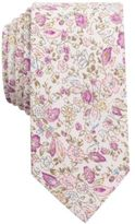 Bar III Men's Antique Floral Slim Tie, Created for Macy's