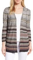 Nic+Zoe Colorscale Open Front Cardigan
