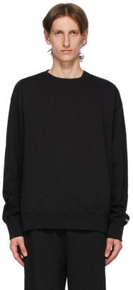 Chemist Creations Black French Terry Sweatshirt