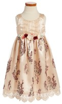 Iris & Ivy Toddler Girl's Embroidered Sleeveless Dress