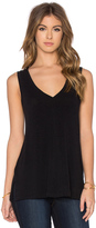 James Perse A-Line Viscose Blend Tank