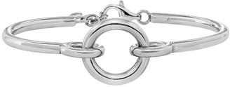Italian Silver Circle Bracelet, 10.5g