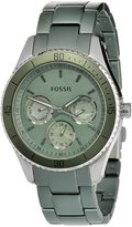 Fossil Women's ES3039 Stella Aluminum and Stainless Steel Watch