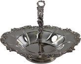 One Kings Lane Vintage English Silver-Plate Basket C.1875