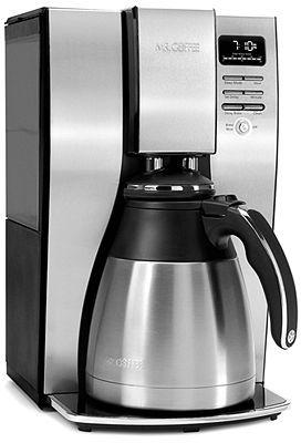 Mr. Coffee BVMC-PSTX95GTF Coffee Maker, 10 Cup Thermal Coffee Pot