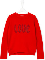 Zadig & Voltaire Love embroidered sweater