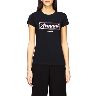 Armani Collezioni Armani Exchange T-shirt Armani Exchange Short-sleeved T-shirt With Logo