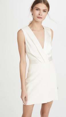 Dion Lee Pivot Drape Mini Dress