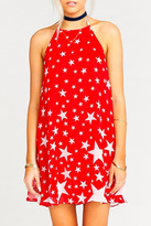 Show Me Your Mumu Red Star Dress