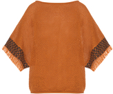 Issey Miyake Bark oversized cotton-knit top