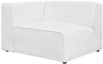 Modway Mingle Upholstered Fabric Left-Facing Sofa