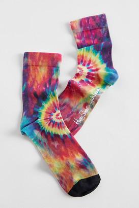 Happy Socks Hysteria By X The Phluid Project Tie-Dye Sock