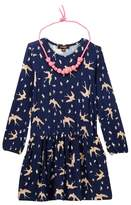 Imoga Rosemary Dress with Necklace (Little Girls & Big Girls)