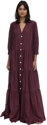 Caftanii Alice Cotton Maxi Summer Dress