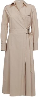 Brunello Cucinelli Belted Dress