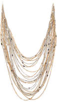 Kelly & Katie Mixed Metal Layered Necklace - Women's