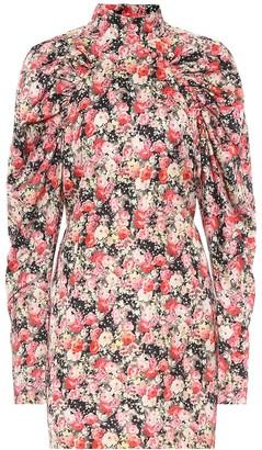 Rotate by Birger Christensen Kim AOP floral satin minidress