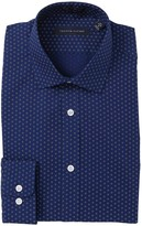 Tommy Hilfiger Pattern Slim Fit Dress Shirt