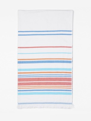 J.Mclaughlin Turkish Towel in Multi Optic Stripe