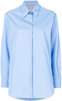 No.21 embellished detail shirt - women - Cotton - 36