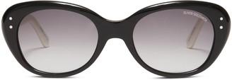Oliver Goldsmith Sunglasses Sophia 1958 Balck & Ivory