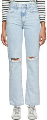 SLVRLAKE Blue Beatnik Jeans