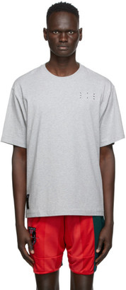 McQ Grey Core Relaxed T-Shirt