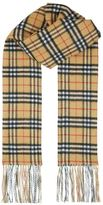 Burberry Double Sided Check Cashmere Scarf