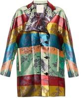 Marco De Vincenzo Reversible jacquard coat