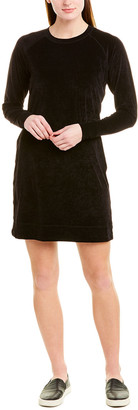 James Perse Velvet Shift Dress
