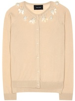 Simone Rocha Wool, silk and cashmere embellished cardigan
