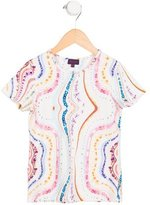 Paul Smith Girls' Floral Print T-Shirt