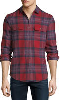 Original Penguin Flannel Plaid Shirt