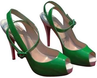 Christian Louboutin Green Heels
