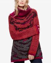 Free People Tiger Eye Turtleneck Sweater