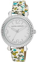 Laura Ashley Women's LA31005BL Analog Display Japanese Quartz Blue Watch