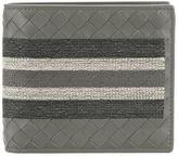 Bottega Veneta interlaced leather bi-fold wallet