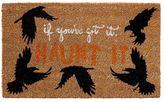 Pottery Barn If You Got It Haunt It Print Doormat