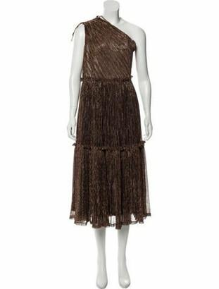 Zac Posen Sleeveless Maxi Dress w/ Tags Gold