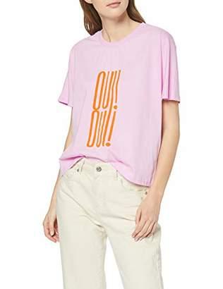 Selected Women's SLFOUI SS TEE B T-Shirt,S