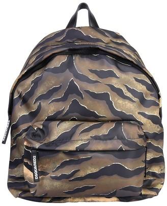 DSQUARED2 Tiger Print Backpack