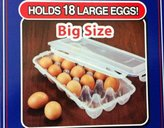 Lock & Lock Egg Container with Leak Proof Locking Lid, 18-Count by LockandLock