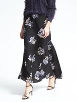 Banana Republic Flounce Floral Maxi Skirt