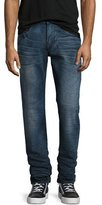 True Religion Geno Flap-Pocket Straight-Leg Jeans, Clouds